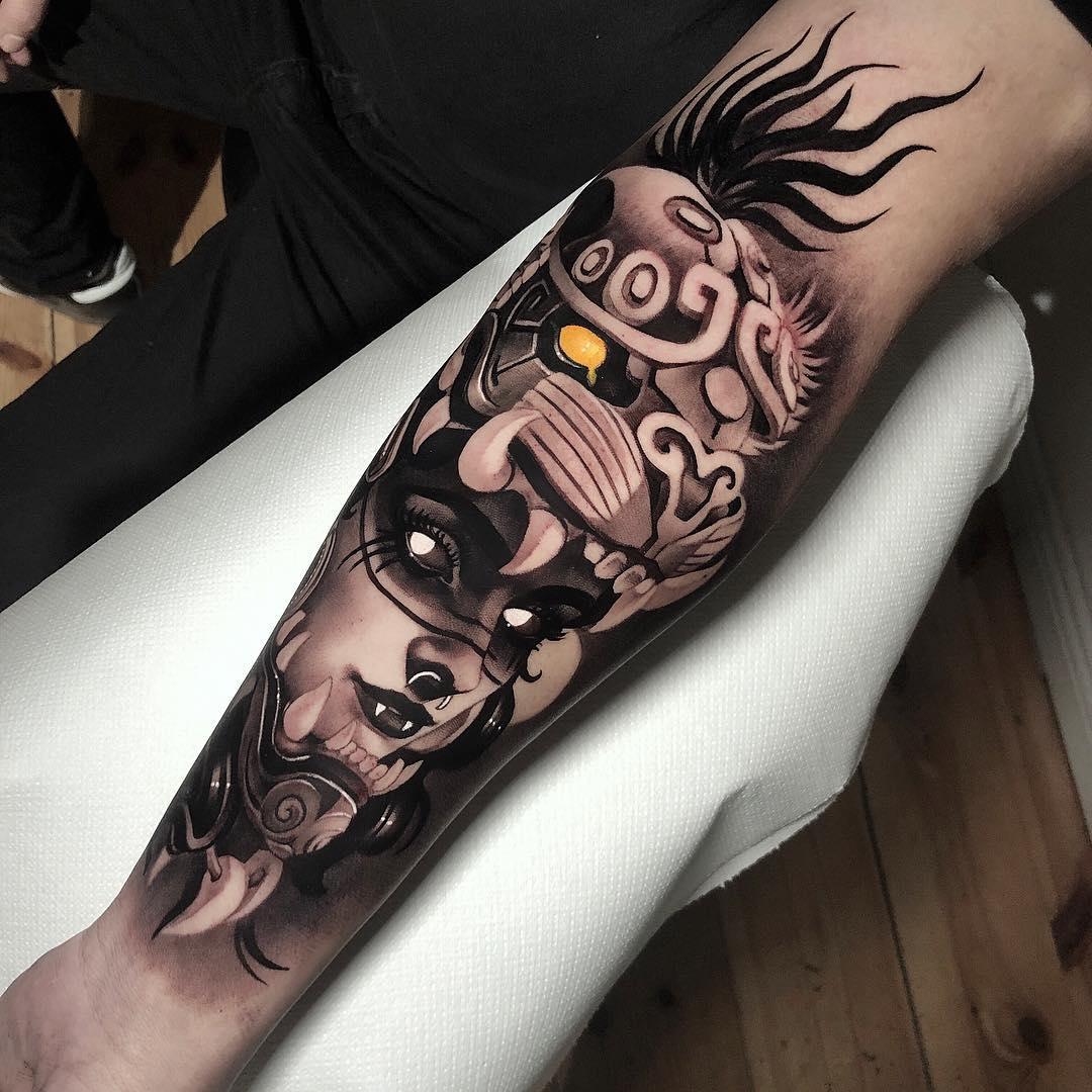 深圳纹彩刺青 纹身图案大全  时间:2019-03-20 15:15