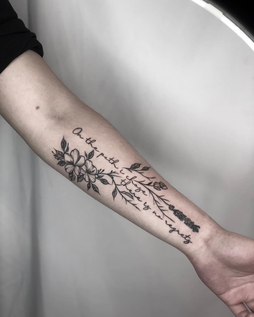腰侧英文字图案纹身范本装修设计任务书商铺图片